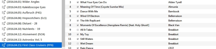 Playlist (2b)