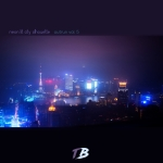 Neon Lit City Silhouette (burningmonk)